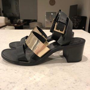 Zara Mid-Heel Sandals *GREAT CONDITION*
